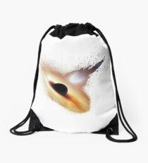 Splash Black Hole Drawstring Bag