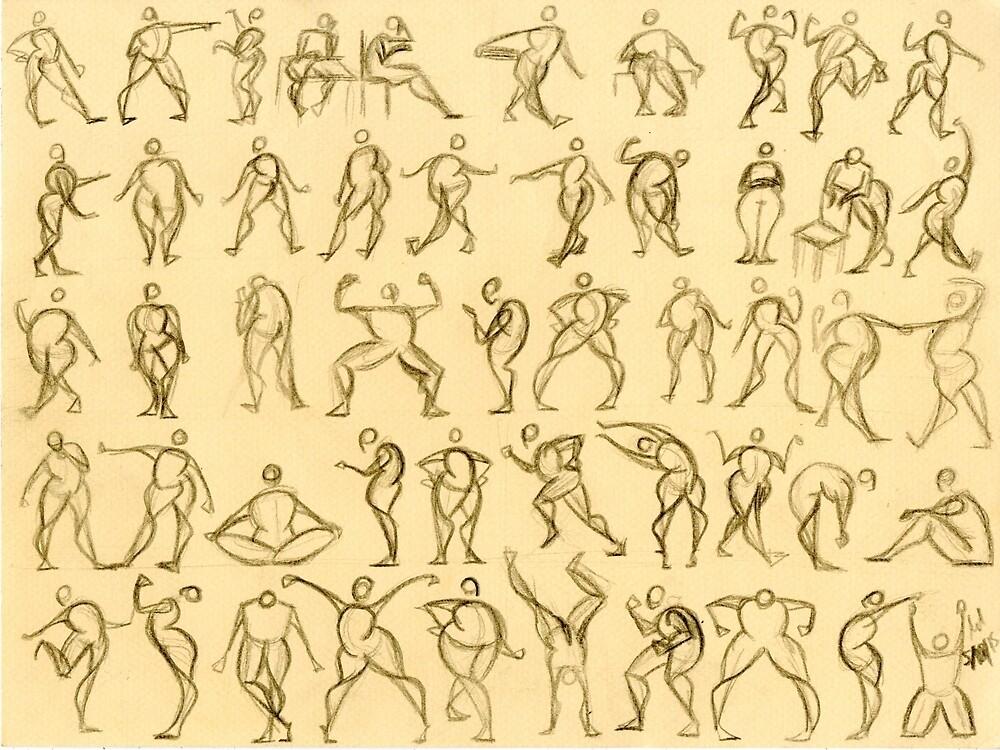 50 Figures by Louisa Lawler