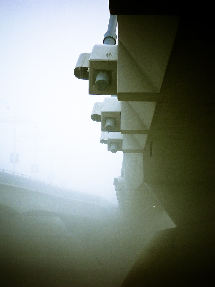 Foggy Waterfront 09 by mdkgraphics