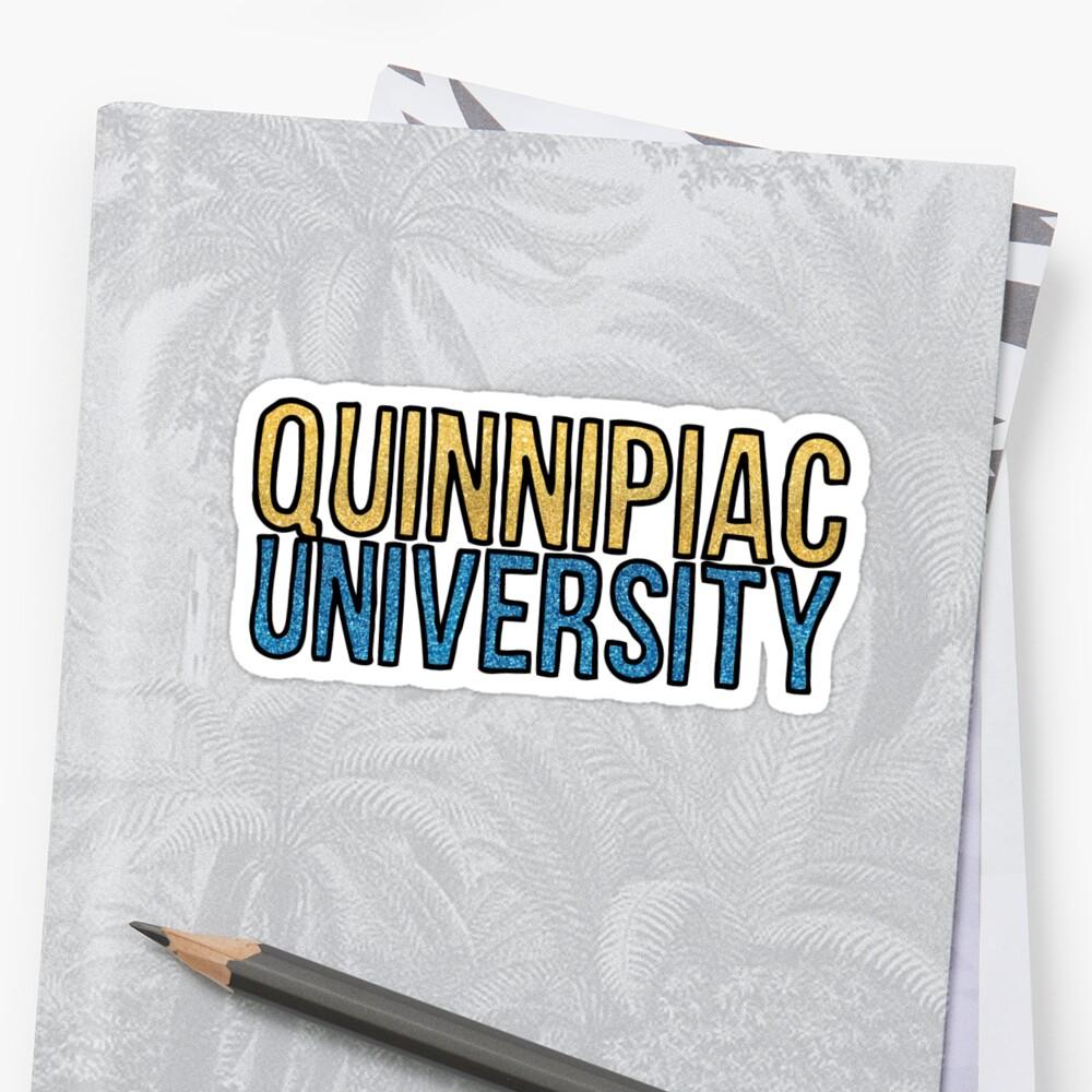 Quinnipiac Glitter by Kt Farello Designs