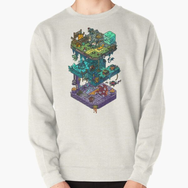 Dungeons and Isometric Dragons Pullover Sweatshirt