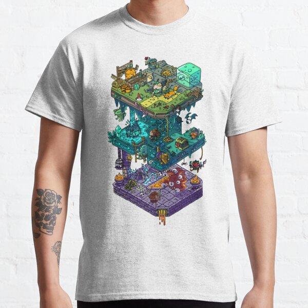 dragons et donjons. Un cadeau parfait pour vos fidèles DM ou joueurs audacieux. T-shirt classique