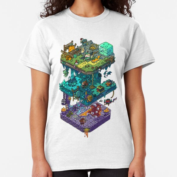 Dungeons and Isometric Dragons Classic T-Shirt