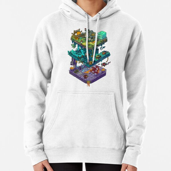 Dungeons and Isometric Dragons Pullover Hoodie