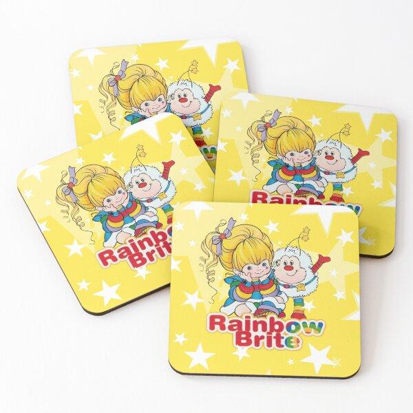 Rainbow Brite Coasters (Set of 4)