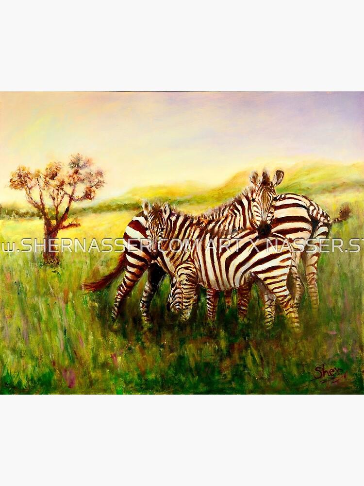 Zebras at Ngorongoro Crater by shernasser