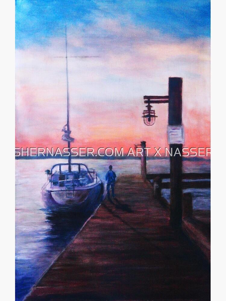 Sunset at Rocky Point by shernasser