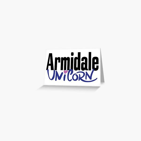 Armidale Unicorn New South Wales Australia Raised Me Greeting Card