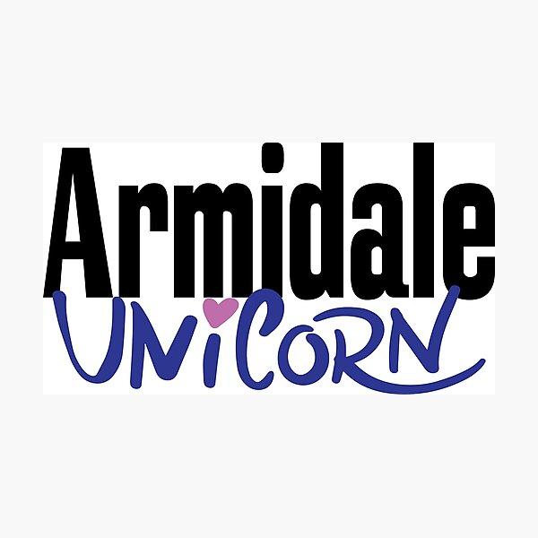 Armidale Unicorn New South Wales Australia Raised Me Photographic Print
