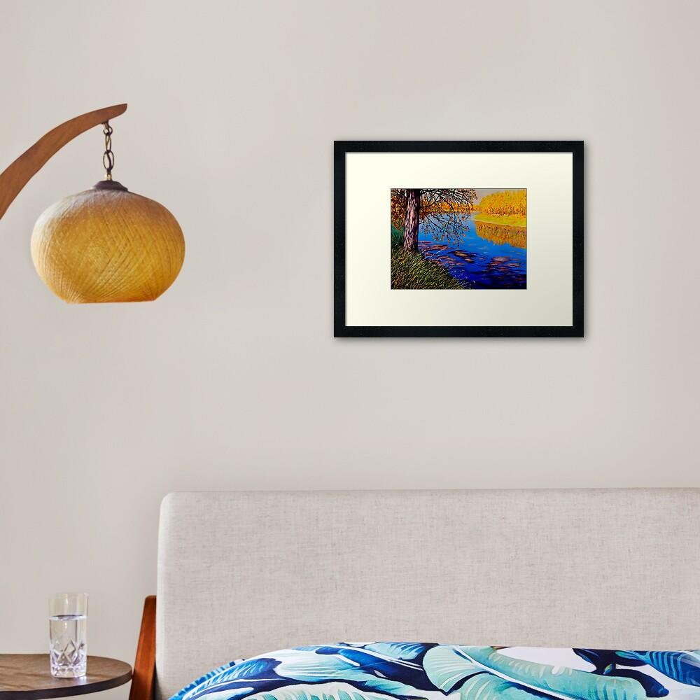 October Afternoon Framed Art Print
