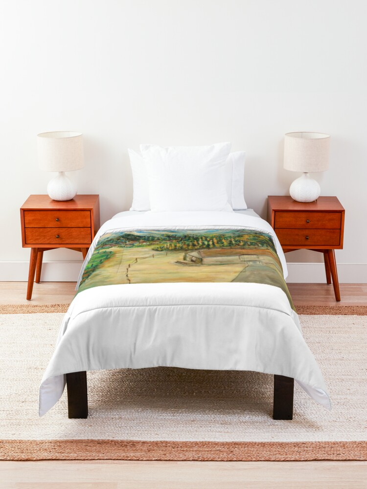 Alternate view of Mountain Villages Comforter