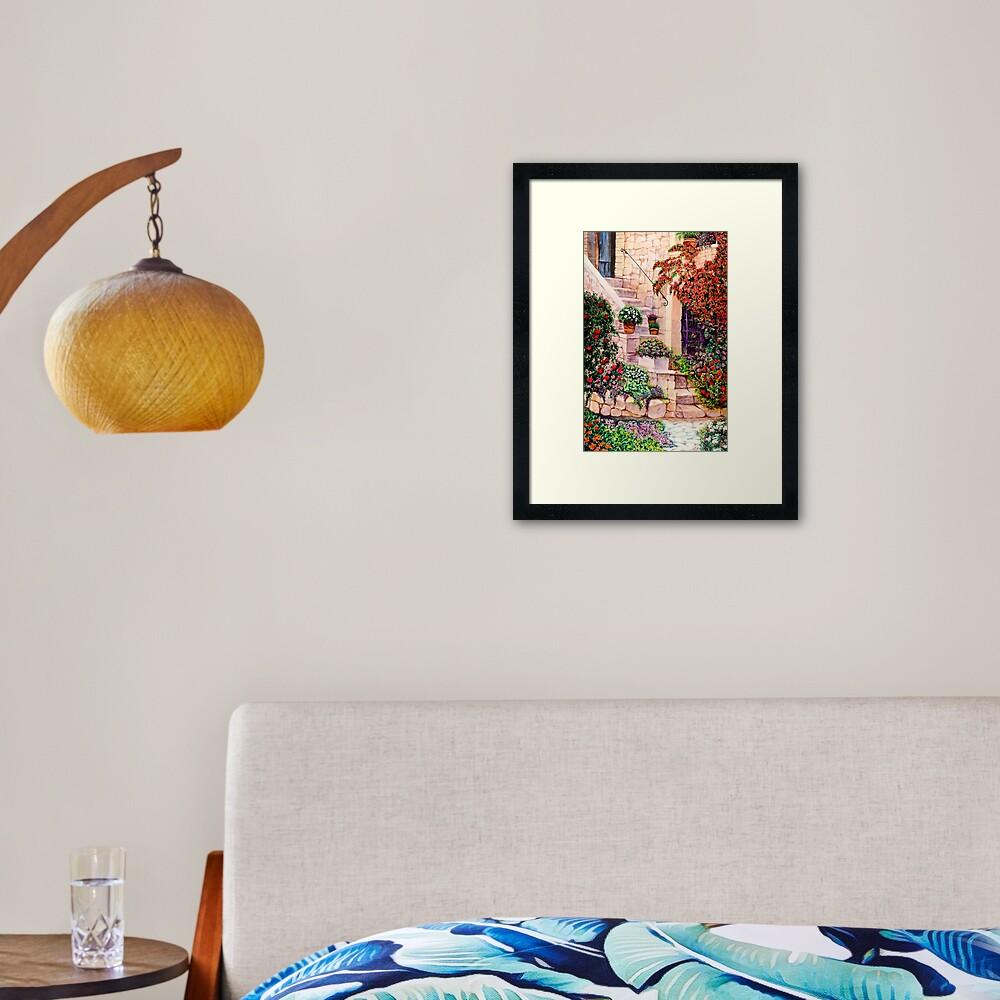 House in Oyster Bay Framed Art Print