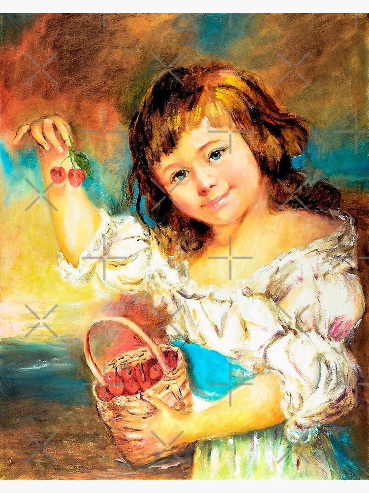 Cherry Basket girl. by shernasser