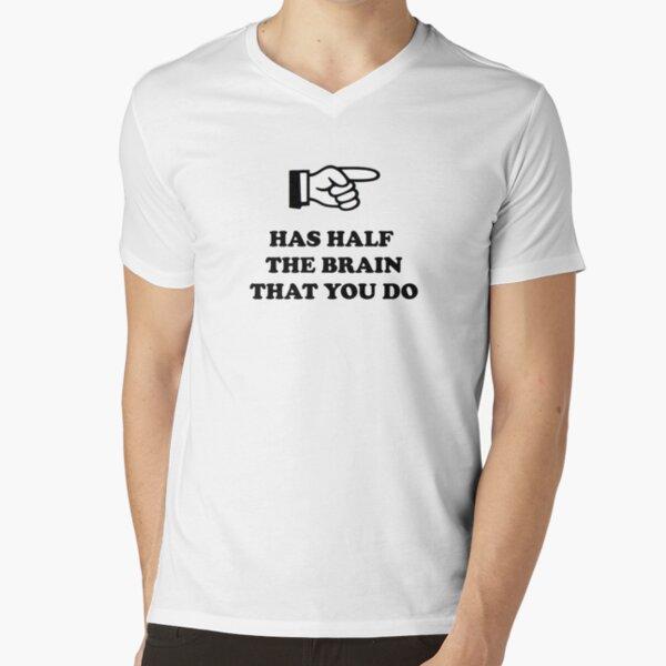Half V-Neck T-Shirt