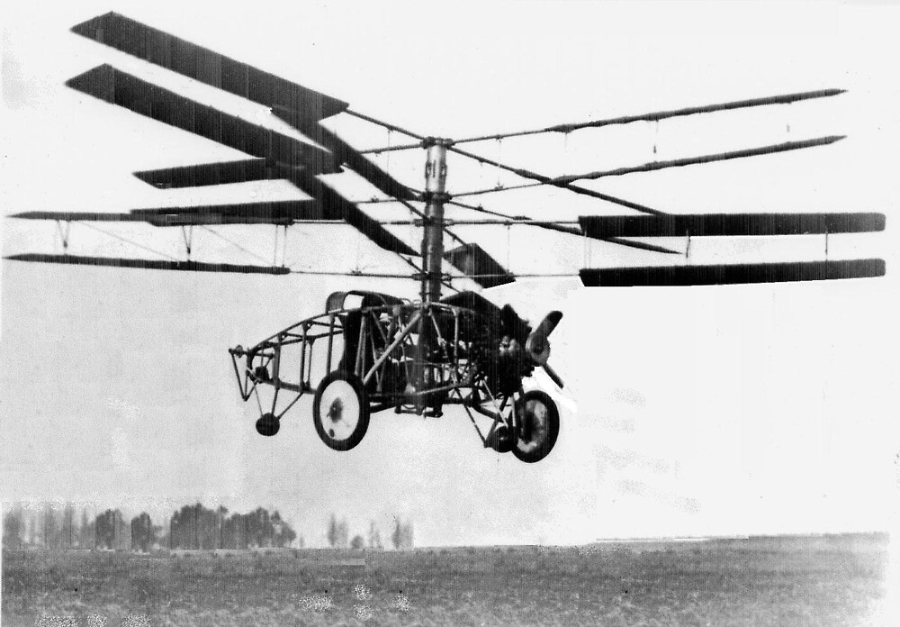 Helicopter Invention by BravuraMedia