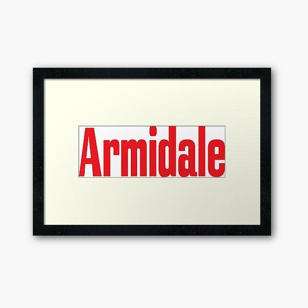 Armidale New South Wales Australia Raised Me Framed Art Print
