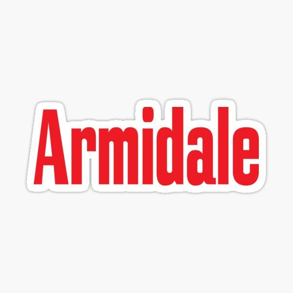 Armidale New South Wales Australia Raised Me Sticker