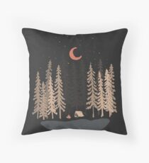 Feeling Small... Throw Pillow