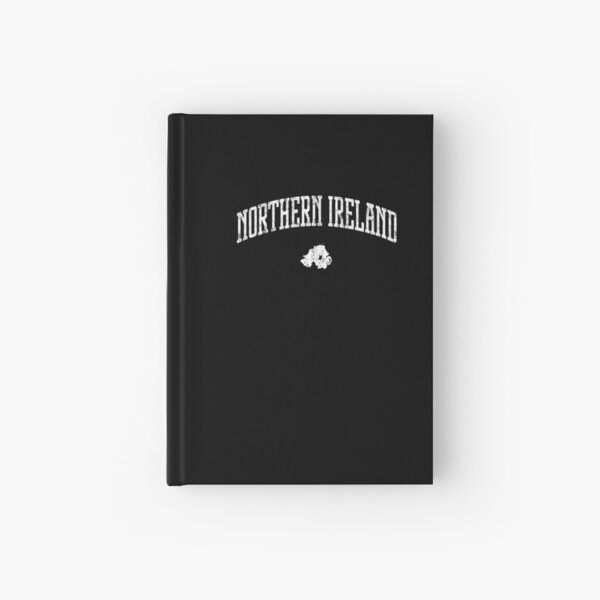 Northern Ireland Icon Vintage Hardcover Journal