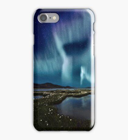 Aurora over Sweden iPhone Case/Skin