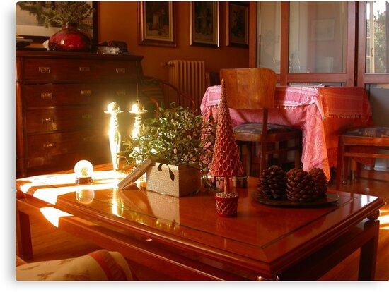 Un raggio di sole...un ramo di vischio...un tavolino. 2500 visualizzaz a gennaio 2013...FEATURED RB EXPLORE 1 NOVEMBRE 2011... by Guendalyn