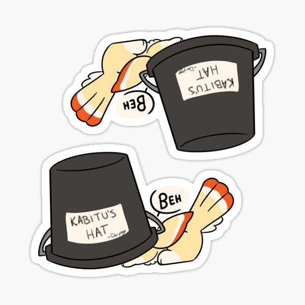Kabitu Hat 2-Pack Sticker