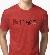 Crimson, Eleven, Delight, Petrichor Tri-blend T-Shirt