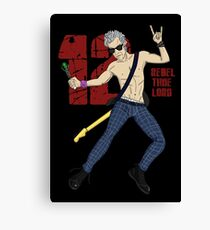 Rebel Time Lord Canvas Print