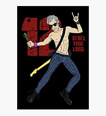 Rebel Time Lord Photographic Print