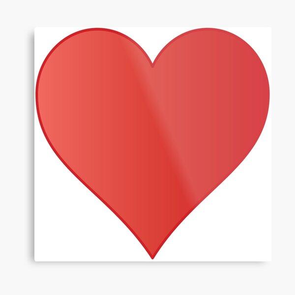 Symbol: Herz, heart #symbol #herz #heart Metal Print