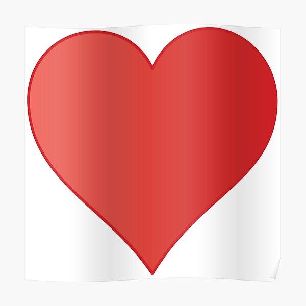 Symbol: Herz, heart #symbol #herz #heart Poster