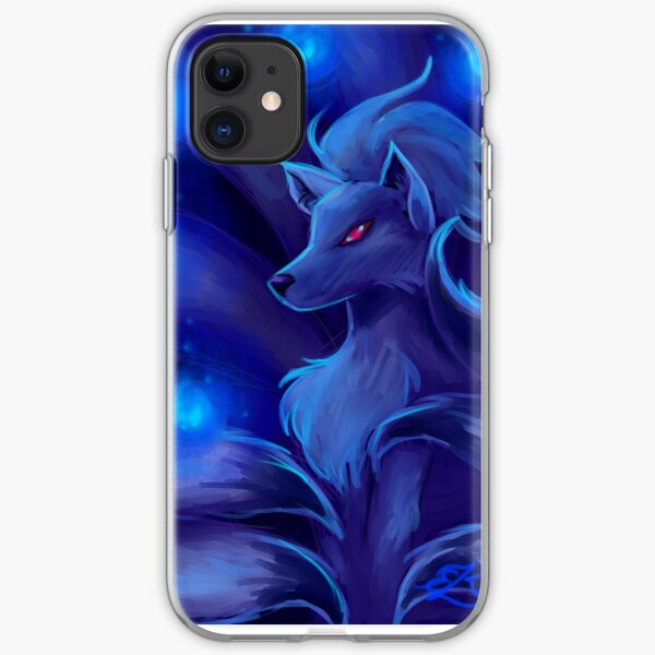 Ninetails wil-o-wisp iPhone Soft Case