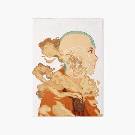 Aang Art Board Print