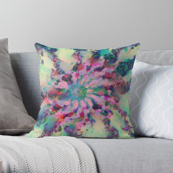 Fractalize Throw Pillow