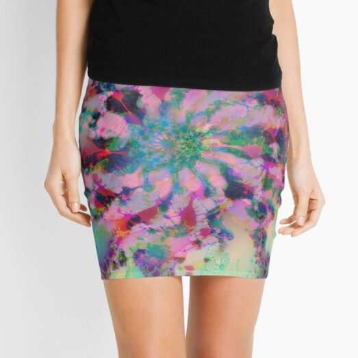 Fractalize Mini Skirt