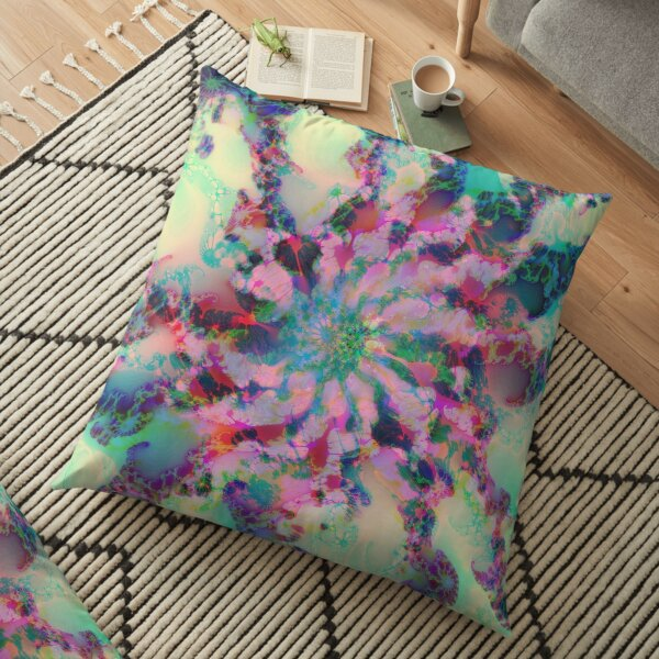 Fractalize Floor Pillow