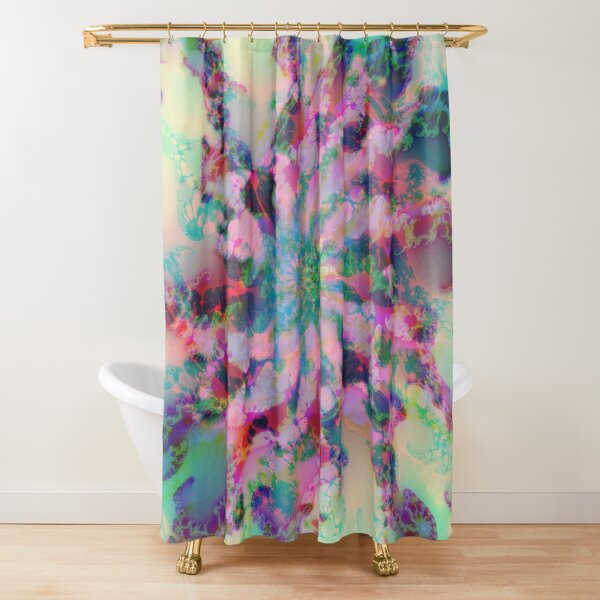 Fractalize Shower Curtain