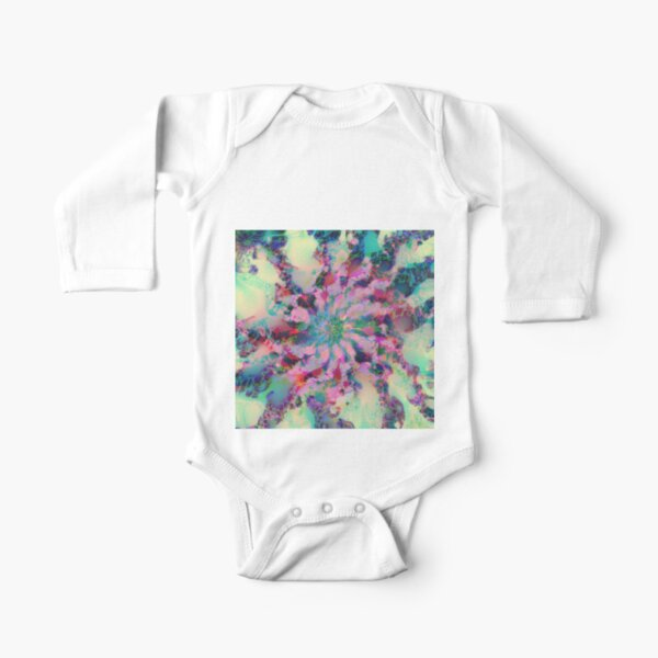 Fractalize Long Sleeve Baby One-Piece