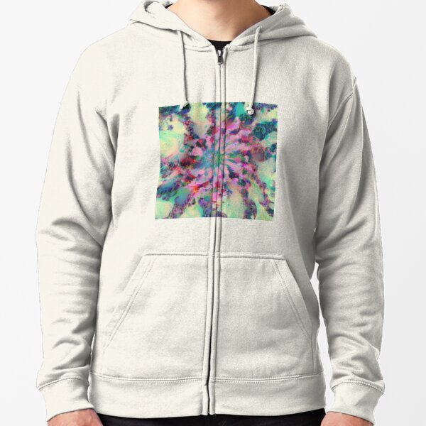 Fractalize Zipped Hoodie