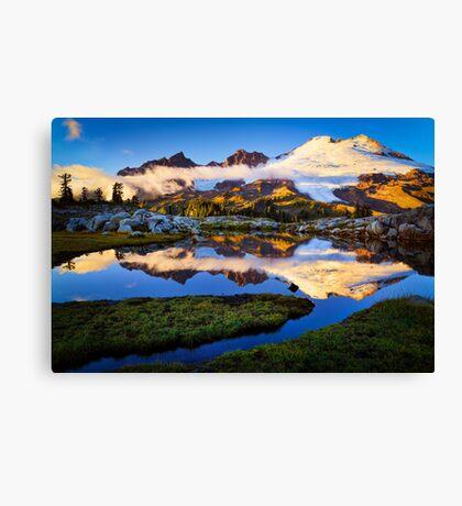 Mount Baker Sunset Canvas Print