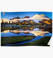 Mount Baker Sunset Poster