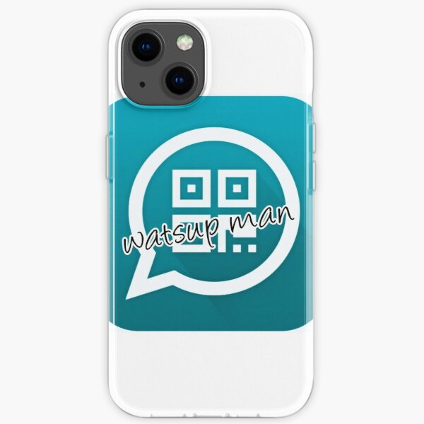 what's up iPhone Soft Case