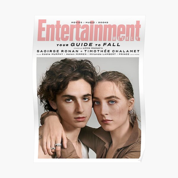 timothee chalamet and saoirse ronan Poster