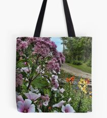 A Beautiful Country Lane Tote Bag