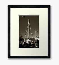 Pearl Lugger Framed Print