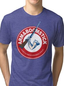 Arm&Boomstick The standard of survival Tri-blend T-Shirt