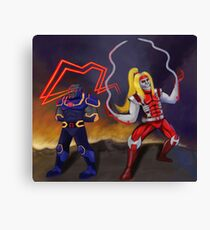 Deadly Duo Canvas Print