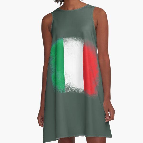 Italy flag A-Line Dress