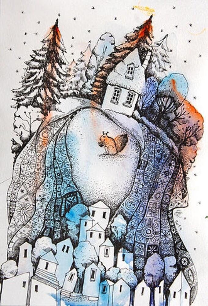 Santa's House by olgagrebennik