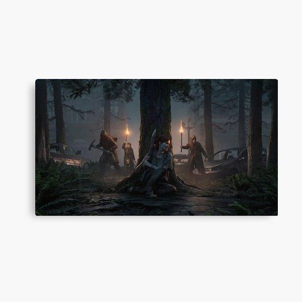 The Last Of Us: Part II - Dark Theme Impression sur toile